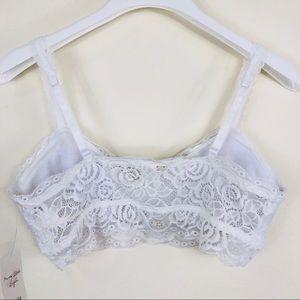 Mudd Intimates & Sleepwear - Mudd White Lace Bralette Size Large NWT